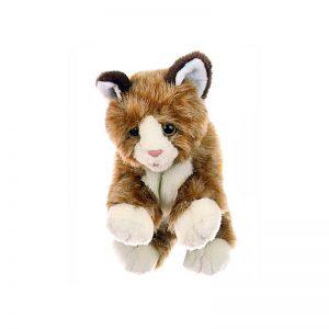 Kleine braune Katze - Tierpuppen