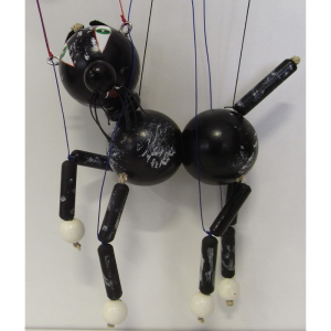 Marionette Katze