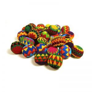 Rastaball Handgemacht - Jonglierball oder Hacky Sack