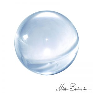 Acrylkugel Kristall 75mm