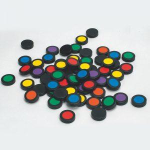 Colomo Spielsteine - Memo- Spiele mit bunten Farben
