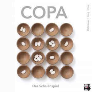 Copa - Das Schalenspiel mit 4 Spielen