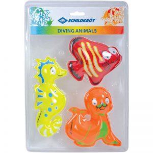 Diving Animals