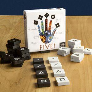 Five - 5 Spiele für Kinder und Erwachsene