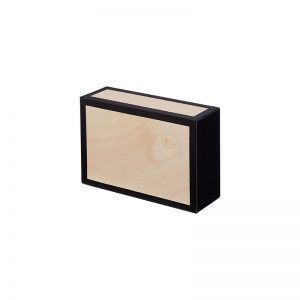 Henrys Cigar Box Natur Schwarz