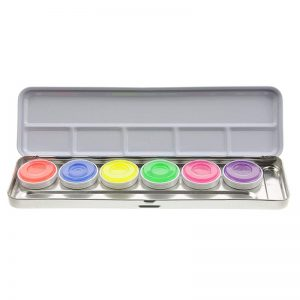 Kryolan Aquacolor UV 6-er Palette
