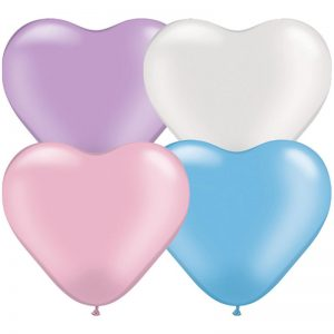 Qualatex Heart Pearl